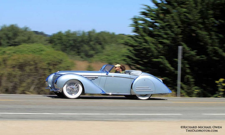 2015 Pebble Beach Concours d'Elegance 1937 Delahaye with coachwork by Franay