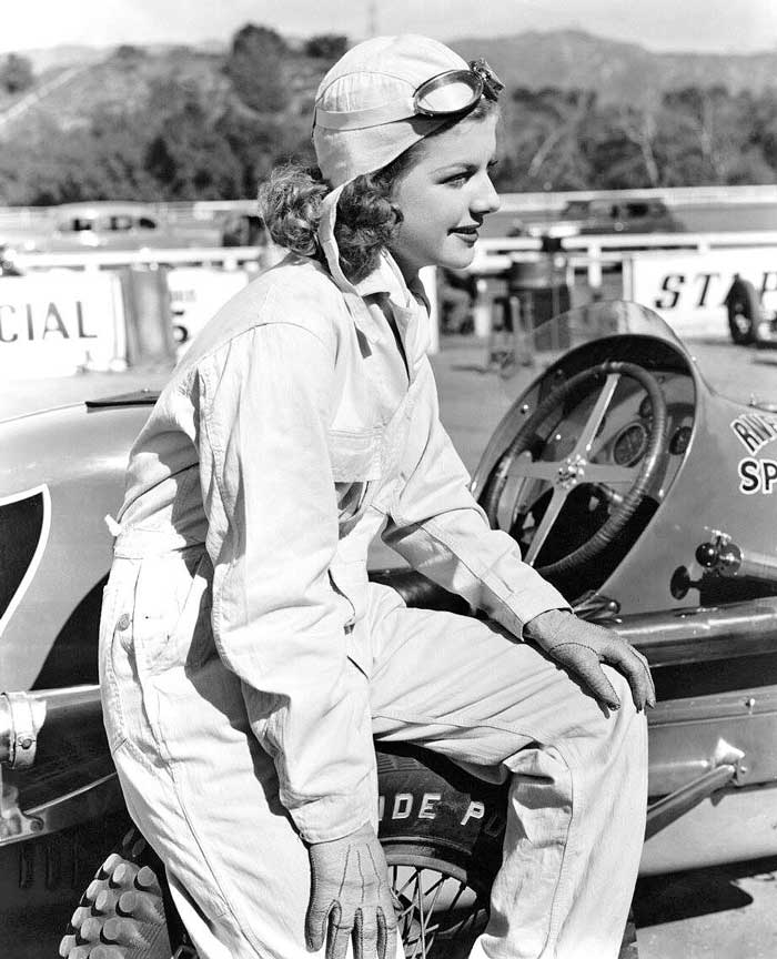 Ann Sheridan Riverside Tire Sprint Car