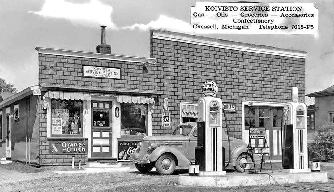 Vintage Gasoline Stations and Repair Garages | The Old Motor