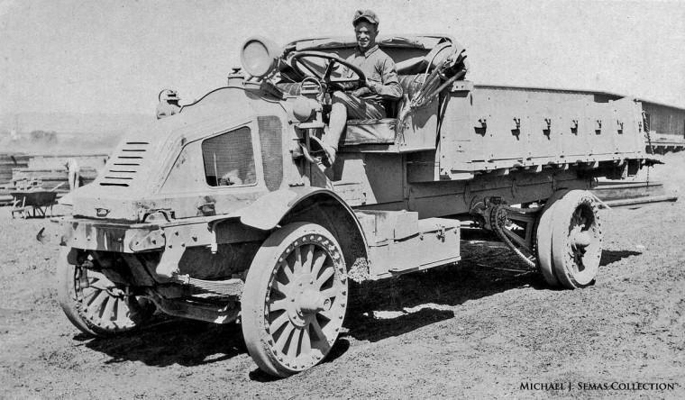 Early Kelly Springfield Truck