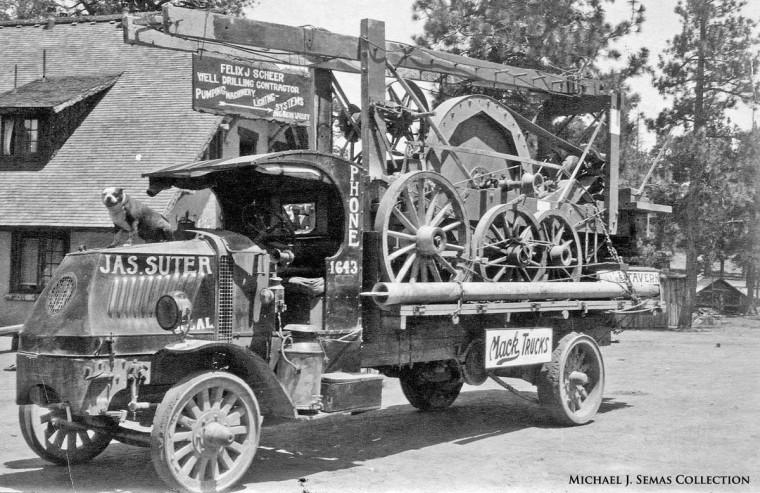 Early Mack Chain-Drive Mack