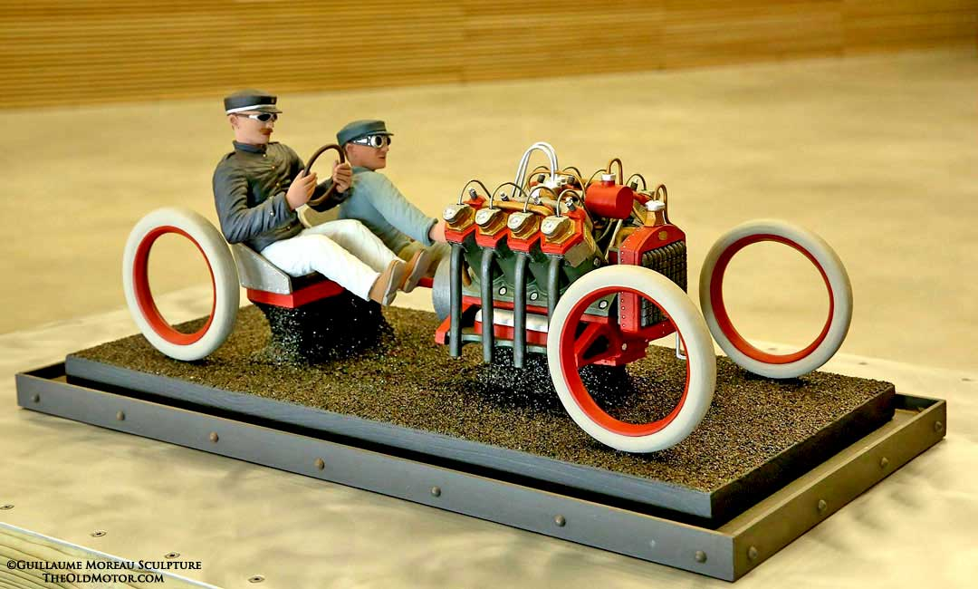 extraordinary motoring sculpture by guillaume moreau