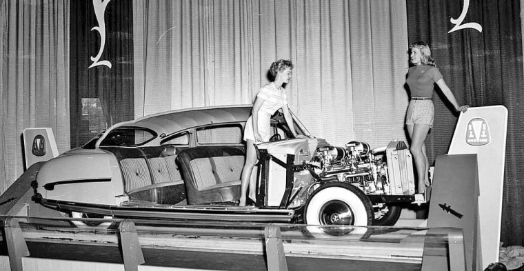 Models and Hudson Sedan