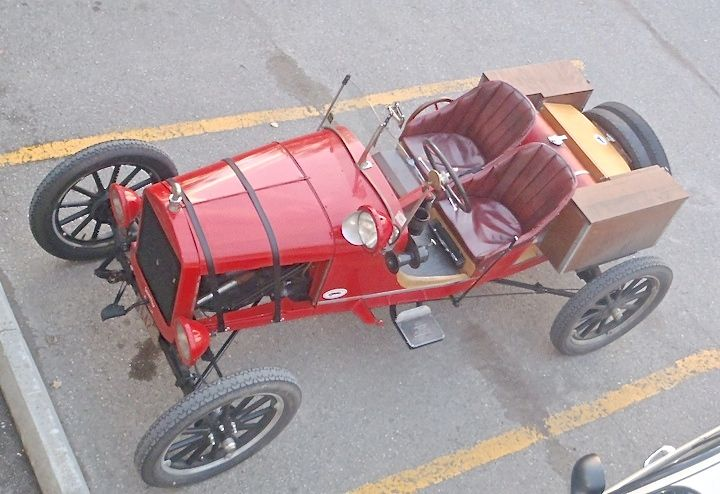 "Model ""T"" Ford speedster"