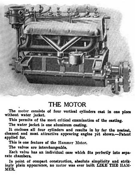 1905 hammer motor car co.