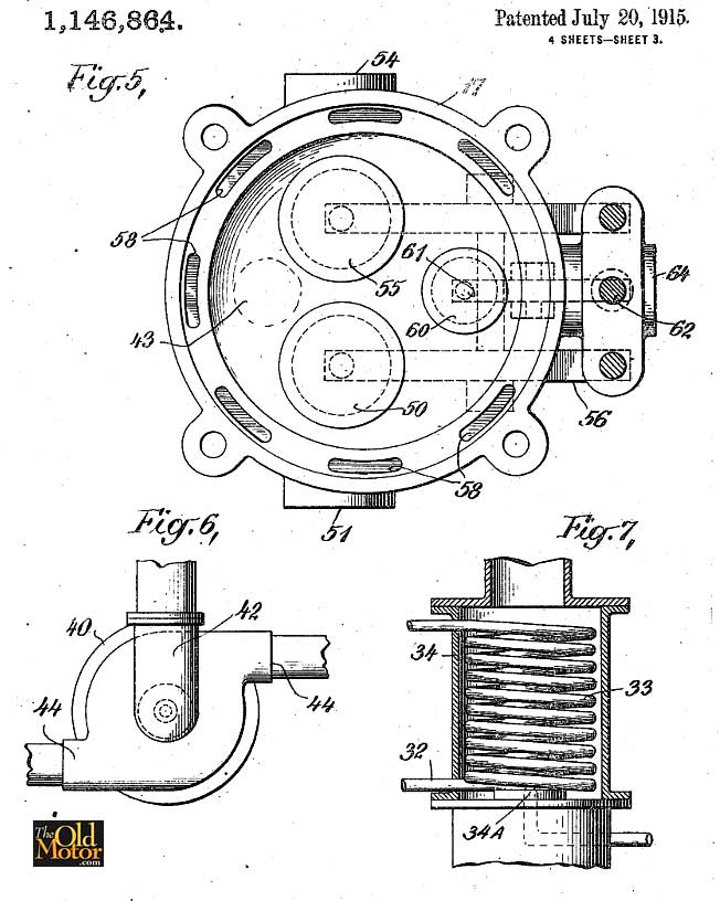 mystery v twin engine solved 1909 gibson patent discovered the rh theoldmotor com V-twin Motorcycle Engines V-Twin Engine Drawings