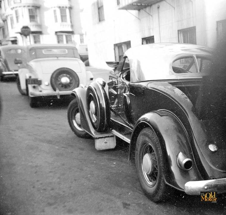 1930s custom car in san franciso