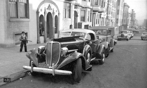 1930s custom car san francisco 1