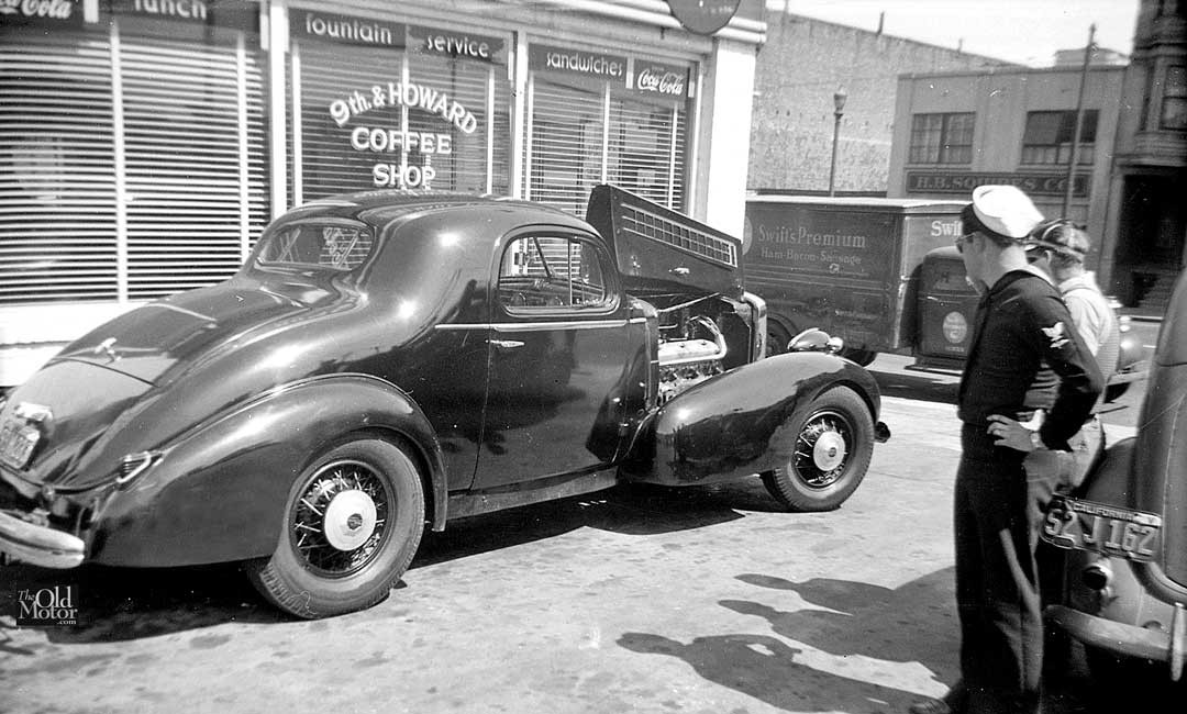 Period California Custom V 16 Marmon Powered 1936 La