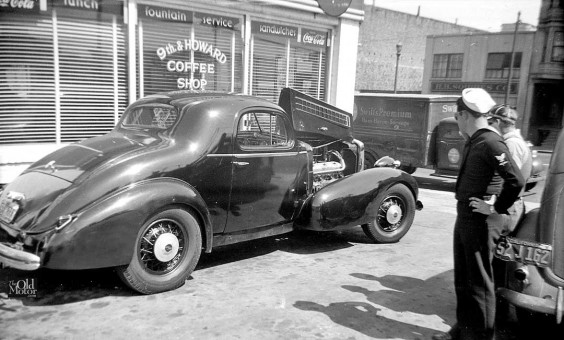 1935 lasalle with marmon v-16