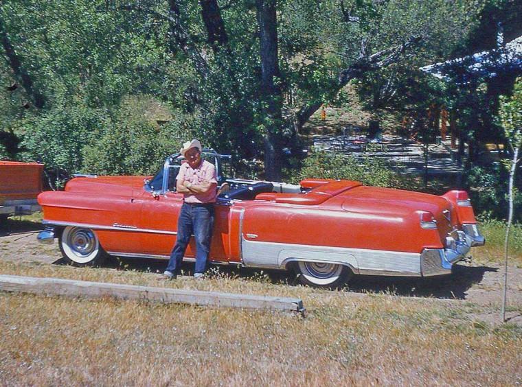 1950s Cadillac Convertible