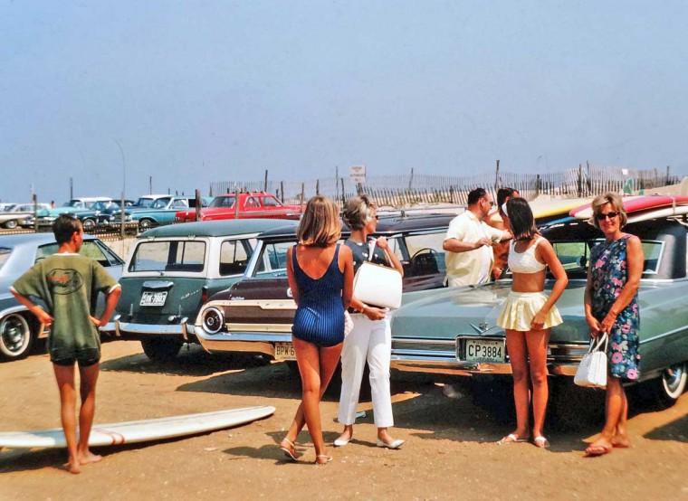 1960s Surfing Scene