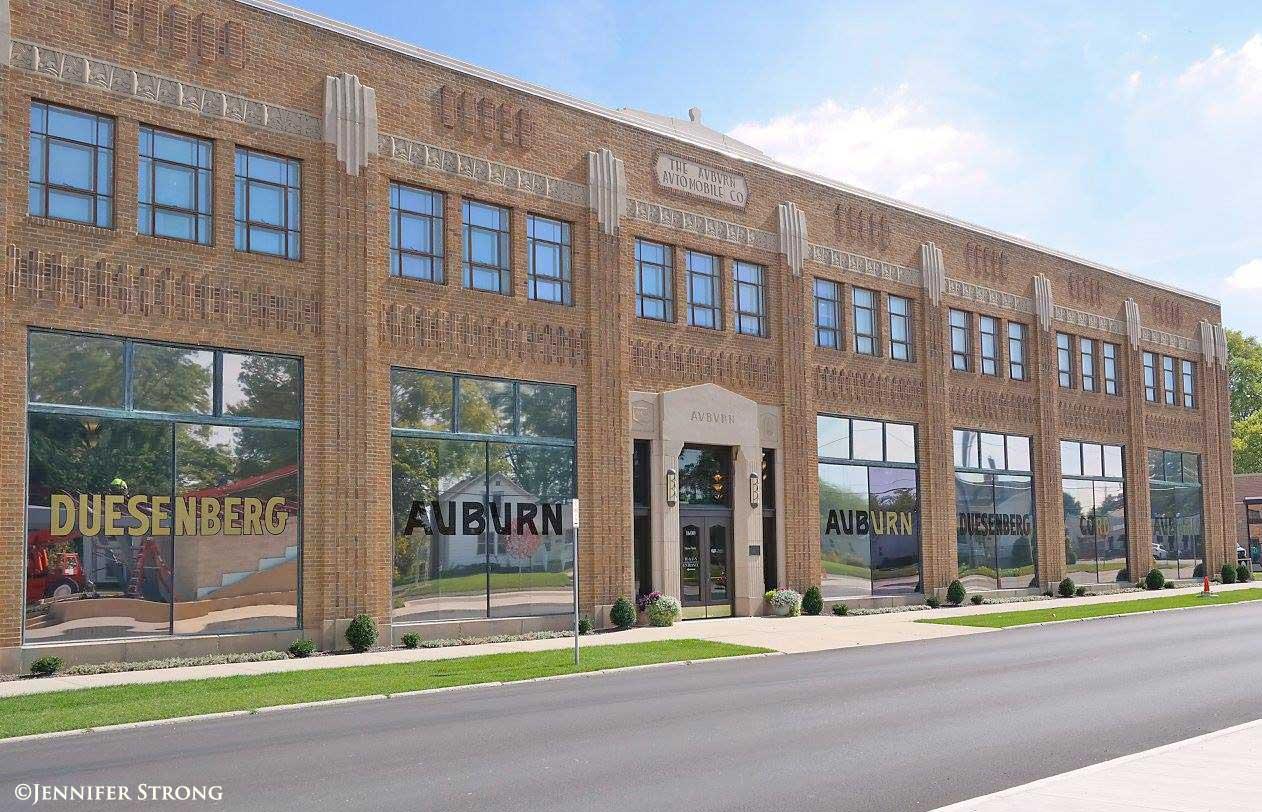 Club Car Auburn >> The Auburn Cord Duesenberg Museum, an Art Deco Centerpiece   The Old Motor