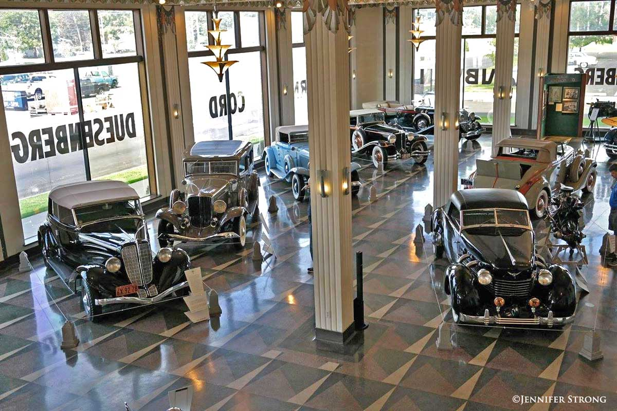 The Auburn Cord Duesenberg Museum, an Art Deco Centerpiece | The Old ...