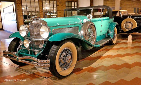 Duesenberg J Convertible Sedan