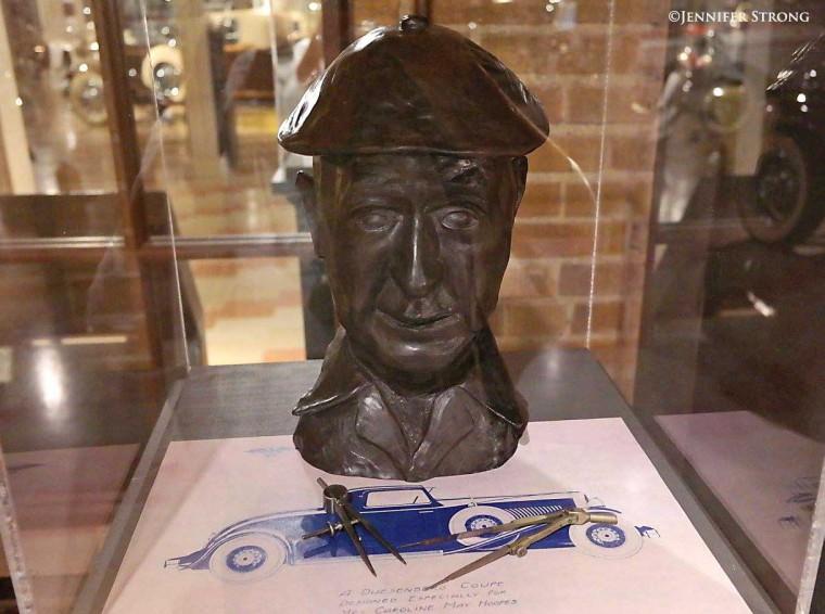 Gordon Miller Buehrig Bronze