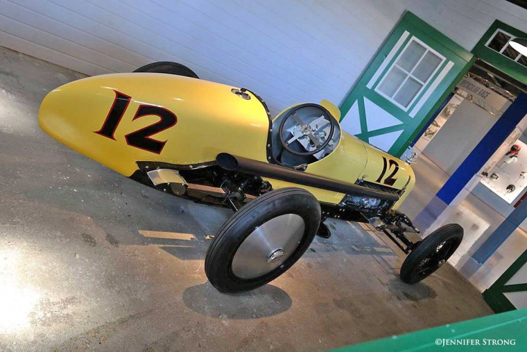 The Banana Wagon Sidewinder Supercharged Racing Car