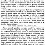 automobile antifreeze in 1901