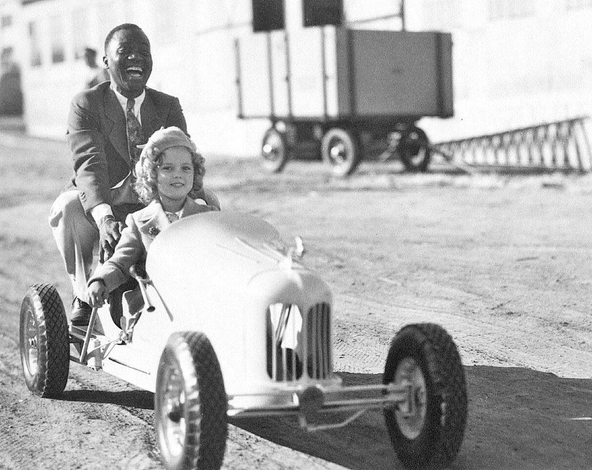 """Used Car Dealerships Richmond Va >> Shirley Temple, Bill """"Bojangles"""" Robinson and the Dreyer Racers 