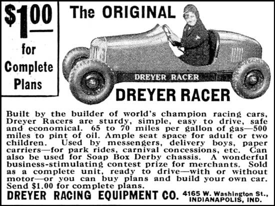 dreyer racing equipment