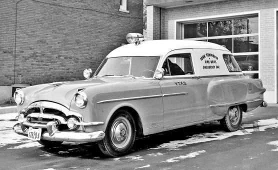 1950s Packard Ambulance