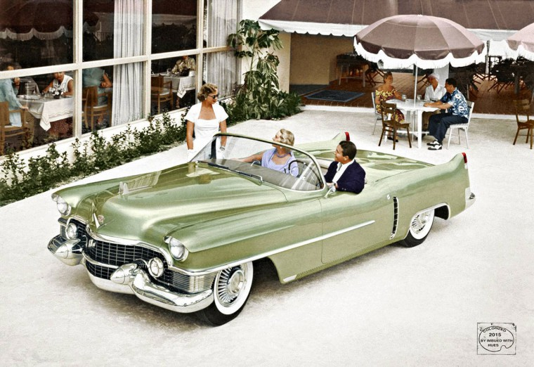 1953 Cadillac LeMans concept car