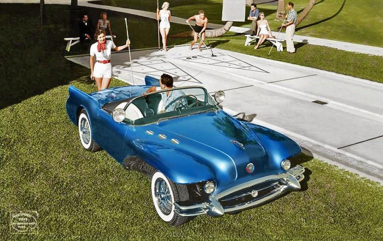 1954 Buick Wildcat II concept car