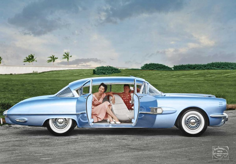1954 Pontiac Strato Streak concept car