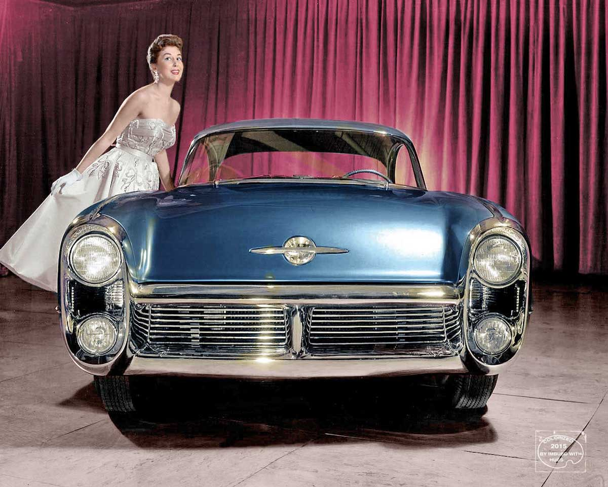Oldsmobile Cars: GM Concept Cars Come Alive In Color By Imbued With Hues