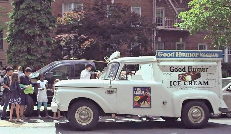 1960s good humor ice cream truck