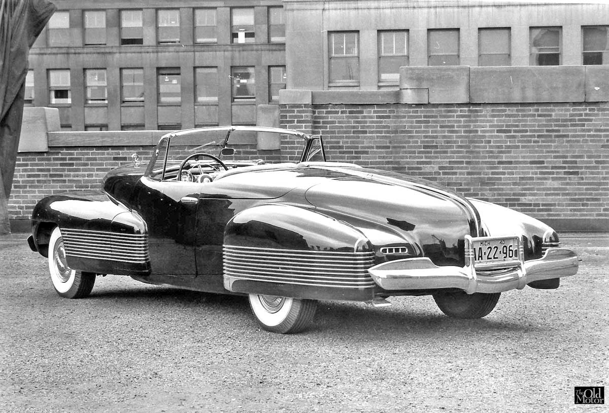 A Brief History Of Concept Cars 1929 51 The Old Motor Buick Lesabre 1938 Y Job 1