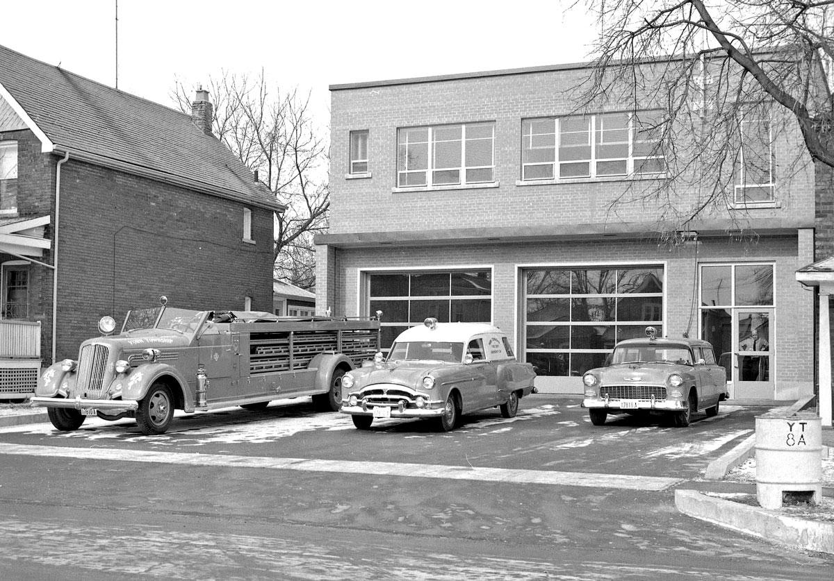 Unique Public Service Vehicles In 1950s Toronto Ontario