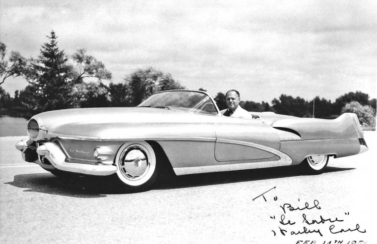 GM LeSabre with Harley Earl