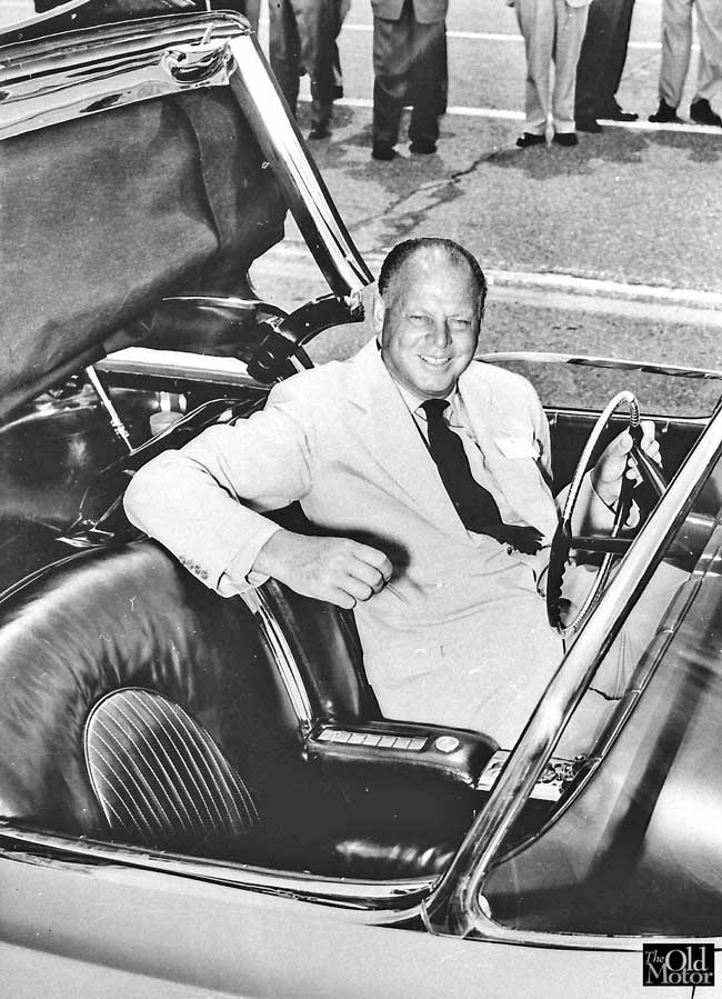 Harley J Earl in LeSabre 1951