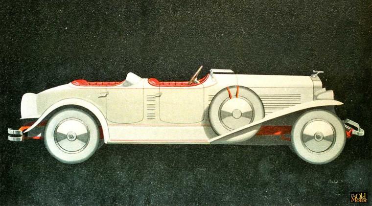 Lincoln 1929 LeBaron Aero phaeton