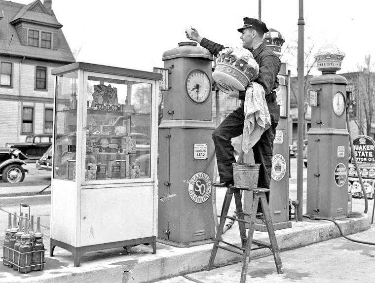 Standard Oil Gasoline station 1939