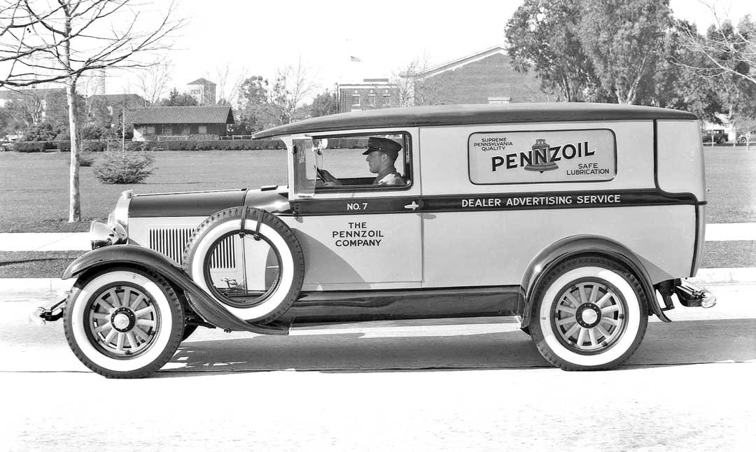 eye catching pennzoil dealer advertising service panel truck the Wiring a Breaker Panel eye catching pennzoil dealer advertising service panel truck the old motor