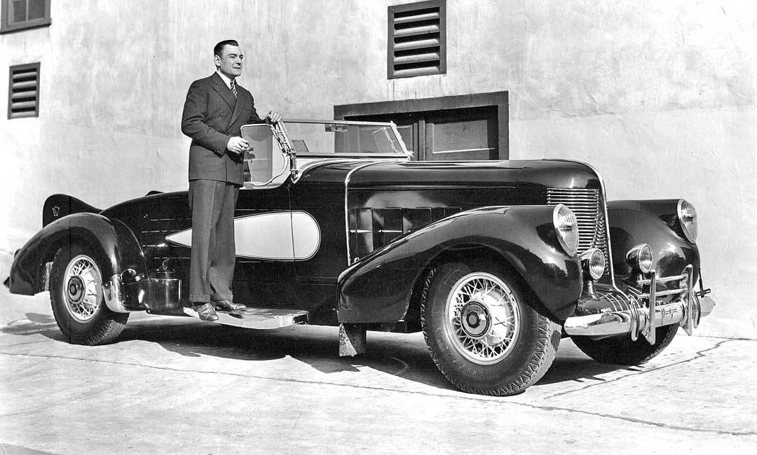 Vintage Hollywood Bling – Actor Buck Jones\' Custom Cars | The Old ...