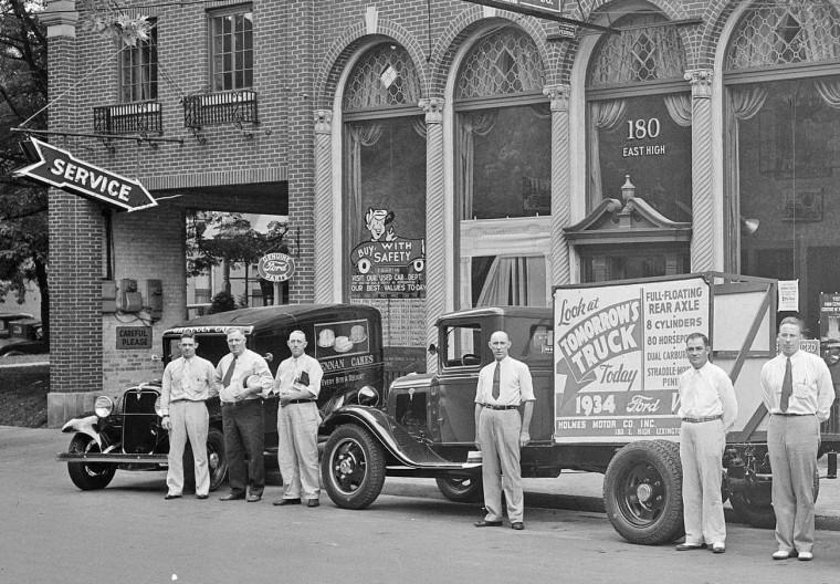 holmes ford dealership 1934 2