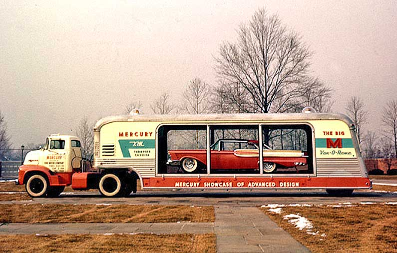 The Big M VanORama and the Mercury XMTurnpike Cruiser  The Old