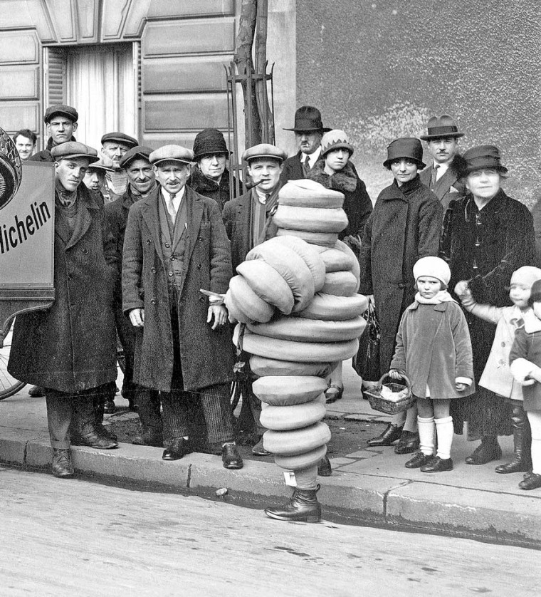 the michelin man in france