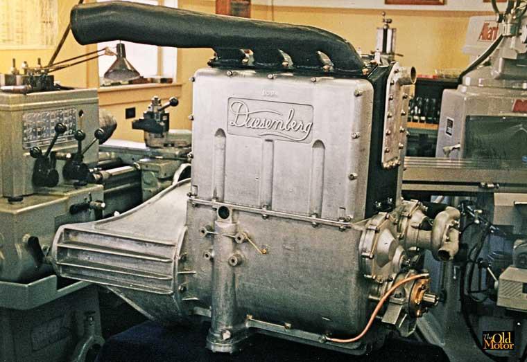 16-Valve Duesenberg Racing Engine