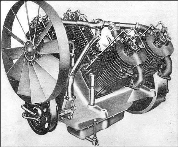 1908 Marmon V-4 Engine