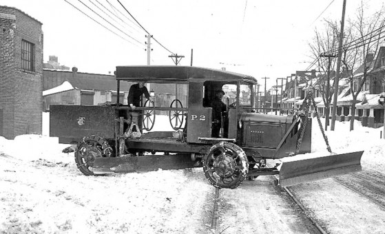 1924 Truck, Grader and Plow