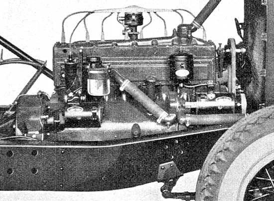 1931 Auburn Engine