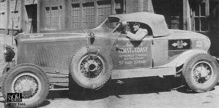 1931 Auburn Speedster - Coast to Coast
