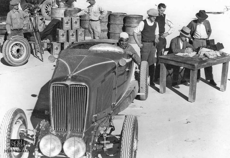 1931 Auburn Speedster - Dry Lakes