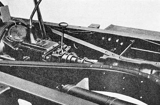 1931 Auburn X-member and freewheeling