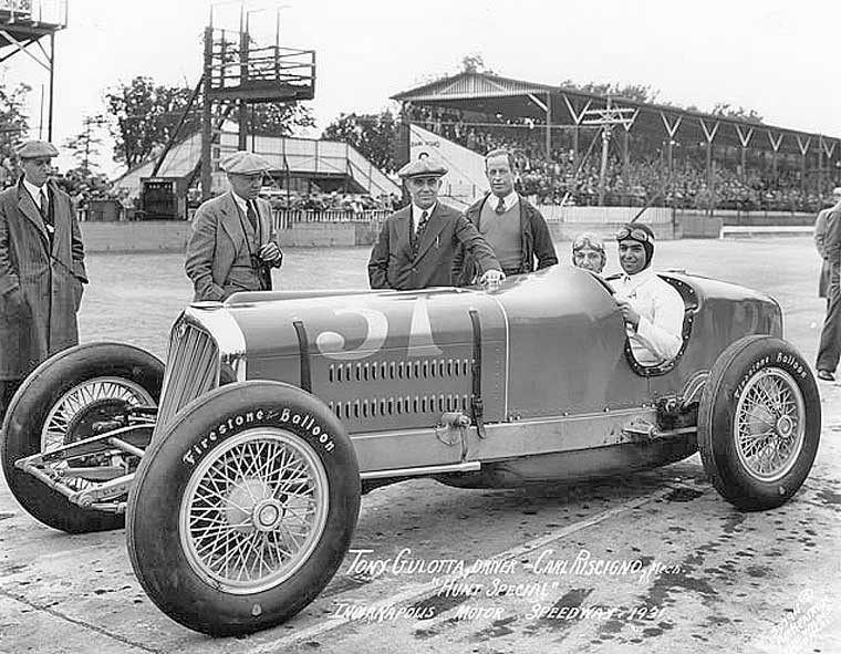 1931 Hunt Special Studebaker Indy car