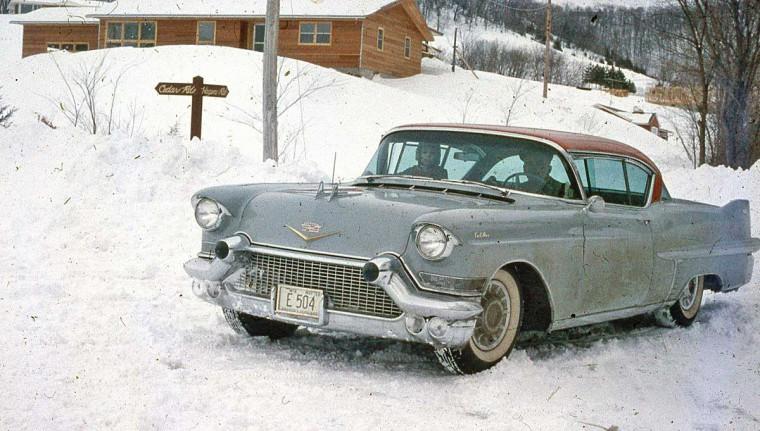 1950s Cadillac Hardtop